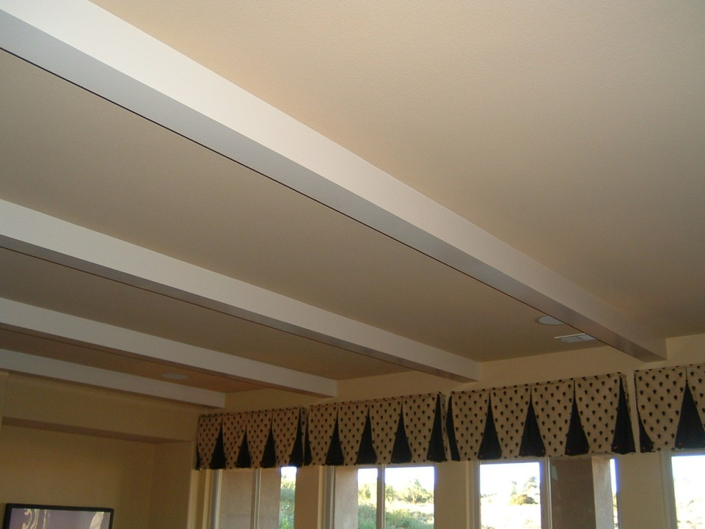 Gallery experts in crown moulding wainscot beadboard for Coffered ceiling styles