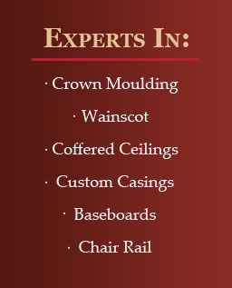 Experts in Crown Moulding in Phoenix