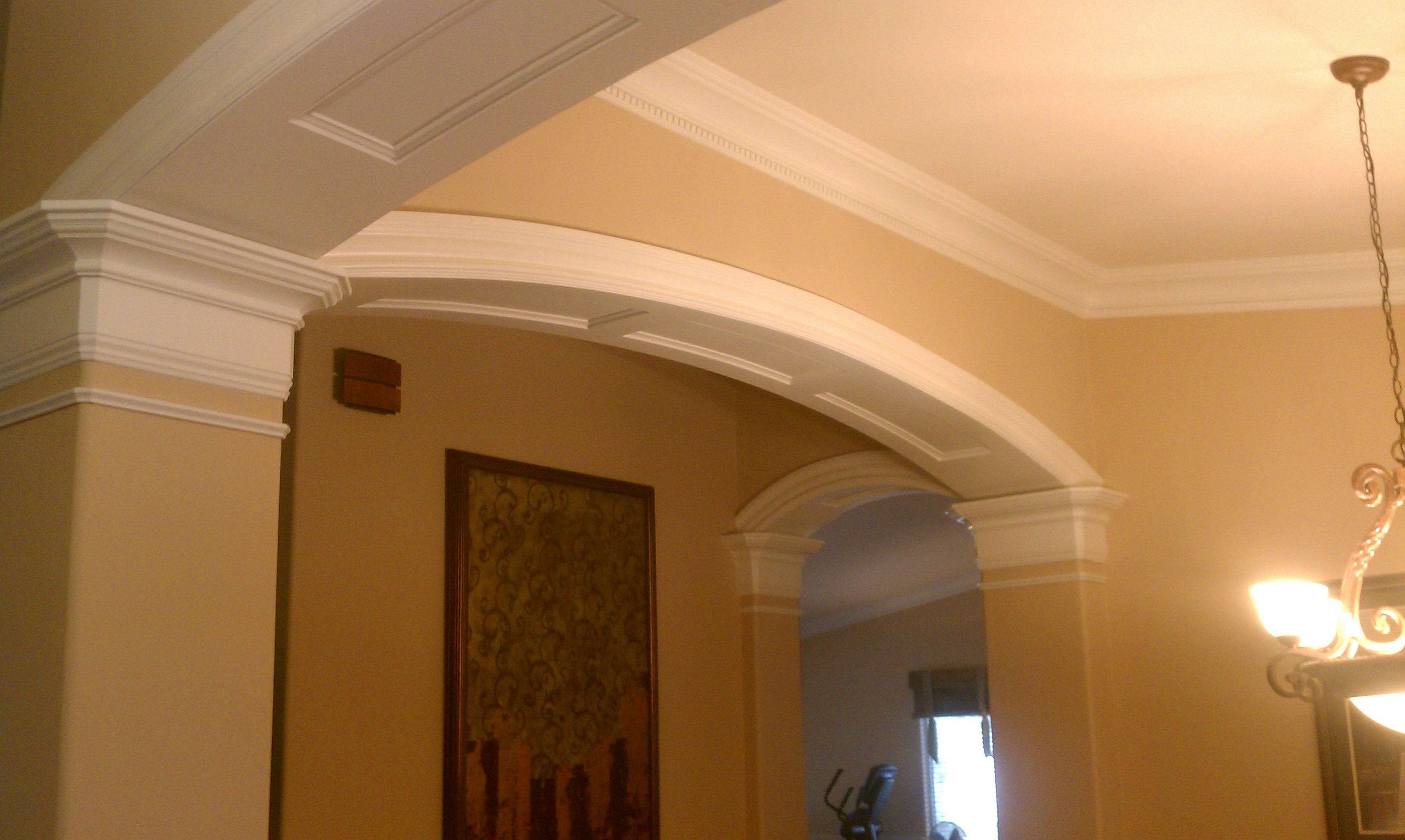 an arch for the ages experts in crown moulding wainscot